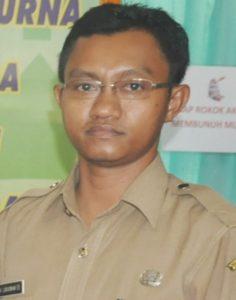 Dokter RSUD Kabupaten Penajam Paser Utara, Lukasiwan (Subur Priono - Humas Setkab Penajam Paser Utara)