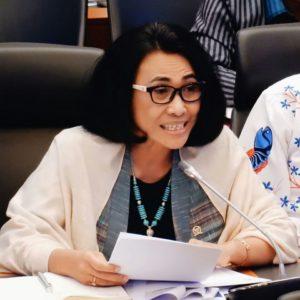 Hetifah mempertanyakan beberapa kebijakan terkait anggaran pada rapat Banggar dengan Pemerintah. (Ist)