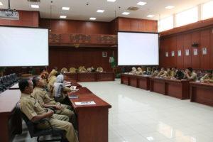 Sosialisasi dipimpin oleh Sekretaris Kabupaten Penajam Paser Utara, Tohar. (Indra Jaya Wiyono - Humas Setkab PPU)