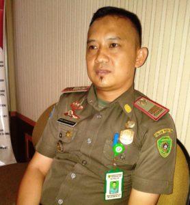 Kasi Ops Satpol PP Kabupaten Penajam Paser Utara, Denny Handayansyah (Subur Priono - Humas Setkab Penajam Paser Utara)