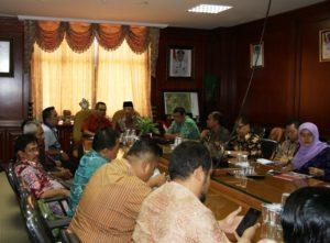 DPRD Kediri, Jawa Timur melakukan kunjungan kerja ke Kabupaten Penajam Paser Utara (Subur Priono - Humas Setkab Penajam Paser Utara)
