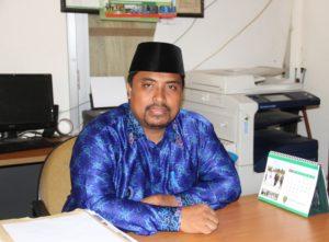 Hendri Sutrisno Ketua Ikatan Guru Honorer Kabupaten Penajam Paser Utara periode 2016-2019 (Iskandar - Humas Setkab Penajam Paser Utara)