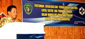 Kepala Dinas Kesehatan Kabupaten Penajam Paser Utara, Arnold Wayong (Iskandar - Hunas Setkab Penajam Paser Utara)