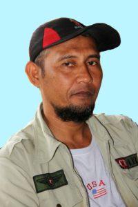 Ketua BUMDes Sebakung Jaya, Kecamatan Babulu, Kabupaten Penajam Paser Utara, M Jainuri (Iskandar - Humas Setkab Penajam Paser Utara)