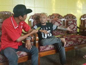 Paknyang Kutai hadir pada Malam Puisi Penajam ke 14, segaligus akan diskusi film Nomaden. (Ist)