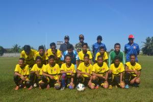SSB Babulu U-16 wakili Kabupaten Penajam Paser Utara pada ajang Piala Menpora tingkat Provinsi Kalimantan Timur (Ist)