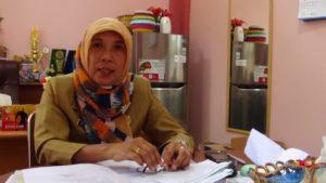 Kepala Dinas Kebersihan, Pertamanan dan Pemakaman Kabupaten Penajam Paser Utara, Tita Deritayati (AH Ari B - Hello Borneo)