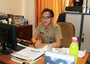 Kepala Sub Bagian Informasi  Bagian Humas dan Protokol Sekretariat Kabupaten Penajam Paser Utara, Adi Priyanto (Subur Priono - Humas Setkab Penajam Paser Utara)