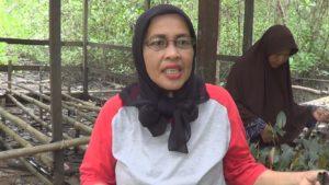 Ketua kelompok KUW Bina Bersama, Siti Ruqiyah. (MR Saputra - Hello Borneo)