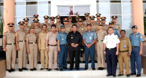 Taruna Angkatan Laut Surabaya yang dipimpin Mayor Laut ZA Fuadi mengunjungi Pemerintah Kabupaten Penajam Paser Utara (Iskandar - Humas Setkab Penajam Paser Utara)