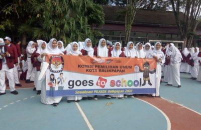 KPU Balikpapan Goes To School. (Ist)