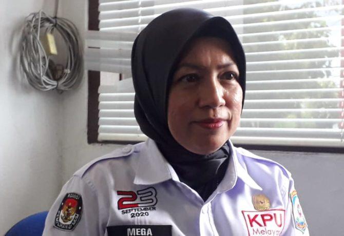 Komisioner KPU Balikpapan , Mega Fariany Ferry. (Ist)