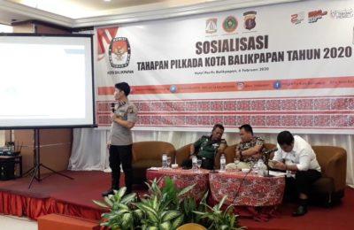 Koordinasi dan Sosialisasi KPU Balikpapan. (Aditya - Hello Borneo)