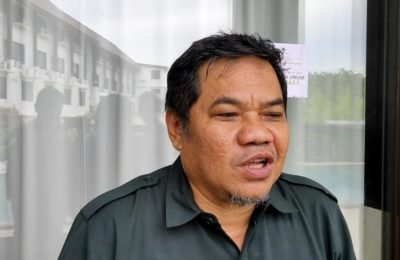 Komisioner KPU Kota Balikpapan, Ridwansyah. (Aditya – Hello Borneo)