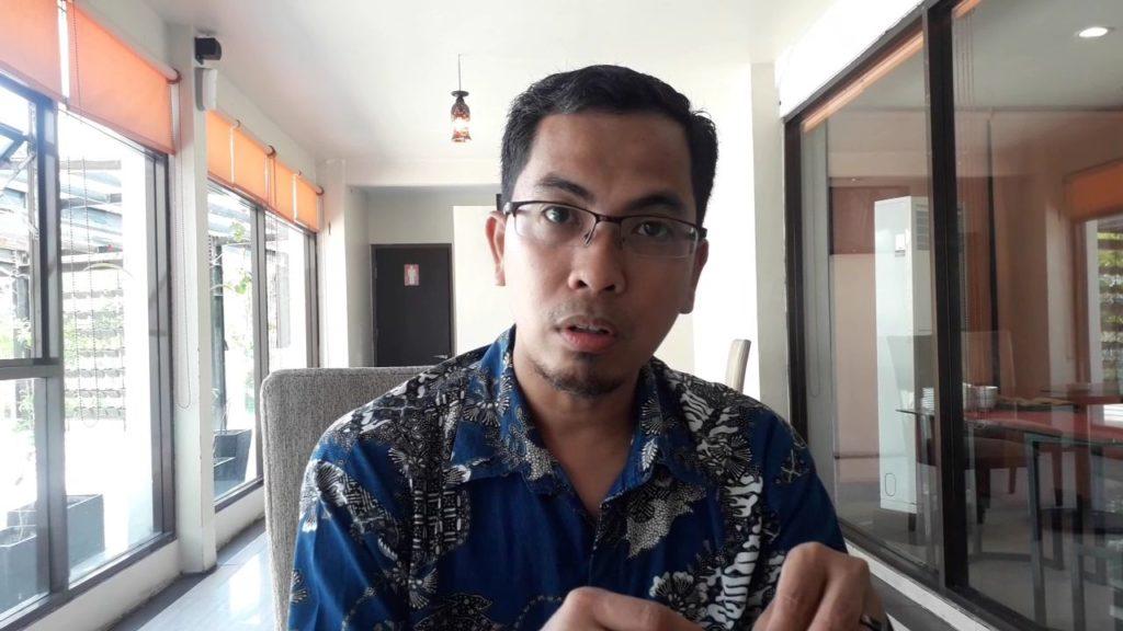 Komisioner Bawaslu Balikpapan, Ahmadi Aziz. (Aditya - Hello Borneo)