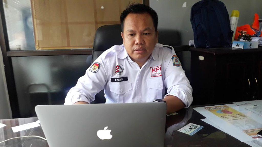 Komisioner KPU Balkpapan, Sahrul Karim. (Aditya - Hello Borneo)