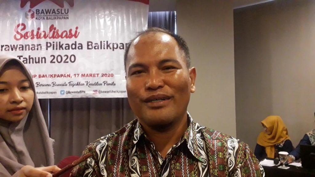 Komisioner Bawaslu Kaltim, Muhammad Ramli. (Aditya - Hello Borneo)
