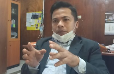 Abdul Qayyim Rasyid, Ketua KPU Kabuaten Paser. (TB Sihombing)
