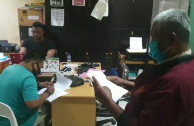 Wartawan gadungan berhasil dibekuk oleh Polresta Balikpapan. (D Purba)