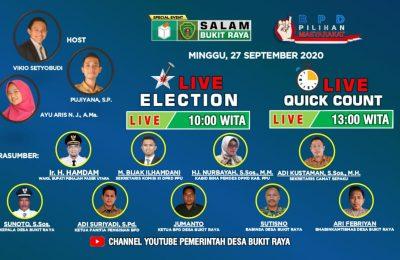 Pemilihan BPD di Bukit Raya Disiarkan Live di Youtube.