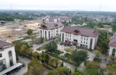 Poto Drone Kawasan Pemerintah Kabupaten PPU