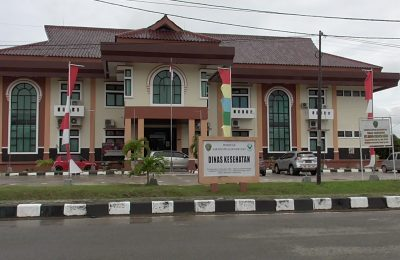 Kantor Dinas Kesehatan Kabupaten PPU.