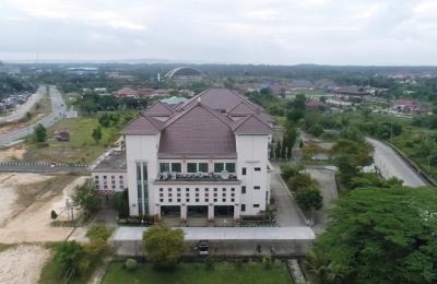 Foto Drone Kantor DPRD PPU