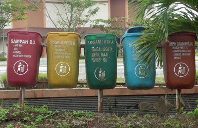 Gambar TPS Sampah di Islamic Center.