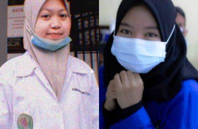 Dua pelajar di Kota Balikpapan, Vita dan Difa