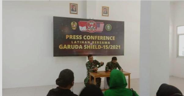 """Kodam VI/Mulawarman Ikut Sukseskan Latihan Bersama TNI AD-US Army Bertajuk """"Garuda Shield"""""""