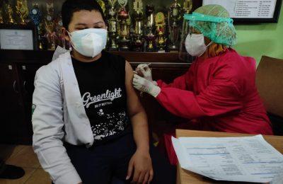 Dok. Vaksinasi Bagi Pelajar di Balikpapan.