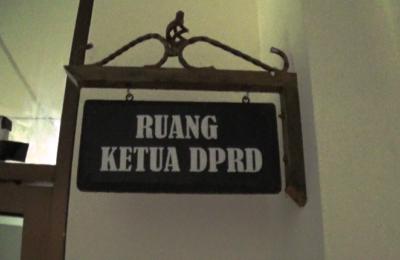 Ruangan Ketua DPRD PPU