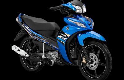 Jupiter Z1 Metallic Blue, desain baru yang semakin sporty dan modern. (Ist)