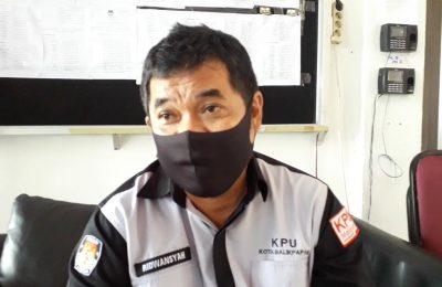 Komisioner Divisi Hukum dan Pengawasan KPU Kota Balikpapan, Ridwansyah Heman. (Aditya - Hello Borneo)
