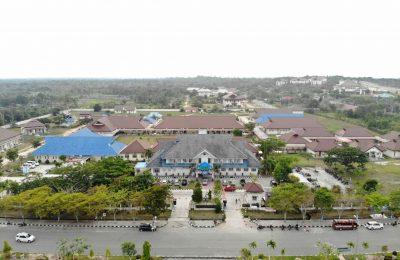 Foto Drone Kawasan RSUD Ratu Aji Putri Botung Kab. PPU.