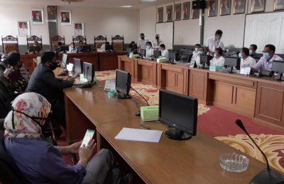 Dok. RDP Dewan bersama Managemen Perumda Danum Taka.