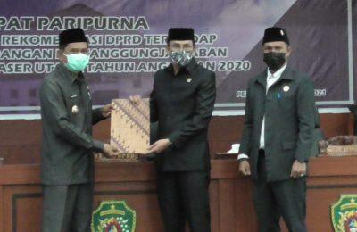 Dok. Paripurna DPRD PPU.