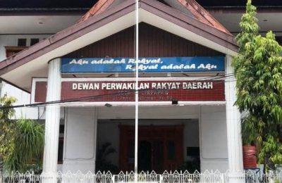 Kantor Sekretariat DPRD Balikpapan.