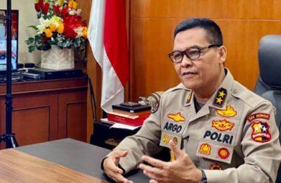 Kepala Divisi Humas Kepolisian Republik Indonesia atau Polri Irjen Argo Yuwono
