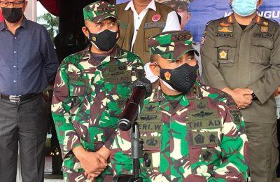 Panglima Kodam atau Pangdam VI/Mulawarman Mayjen TNI Heri Wiranto