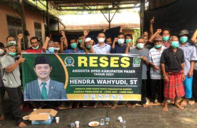 Dok. Kegiatan Reses Anggota DPRD Paser, Hendra Wahyudi.
