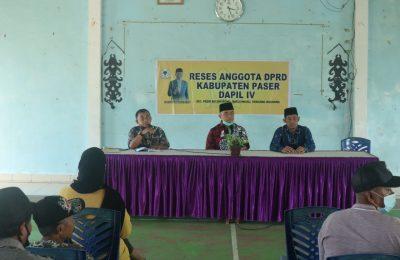 Dok. Reses Wakil Ketua DPRD Paser, Fadli Imawan.