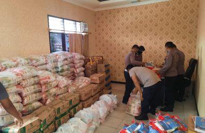 Bantuan Sembako di Masa PPKM Darurat Kabupaten Berau.
