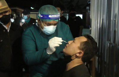 Swab Antigen yang digelar Pemkab Paser. (TB Sihombing)