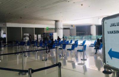 Bandara Internasional SAMS Sepinggan Berlakukan Daftar Vaksinasi Perjalanan Secara Online