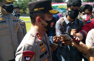 Kapolda Kalimantan Timur Irjen. Pol. Drs. Herry Rudolf Nahak