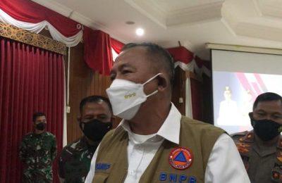 Kepala BNPB, Letjen TNI Ganip Warsito