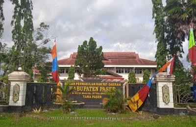 Kantor DPRD Paser.