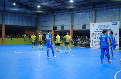Final futsal di Kabupaten Paser gagel digelar. (TBS)